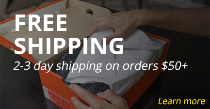 Free 2-3 Day Shipping on $50+
