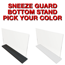 Stand for Acrylic Sneeze Guard - STAND ONLY! (SBSTAND)
