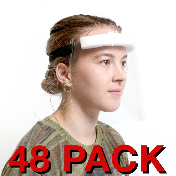Reusable Face Shield - 48 Pack (CBCRFS48)