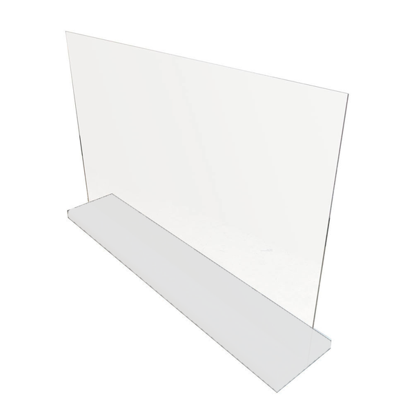 White Stand for Acrylic Sneeze Guard - STAND ONLY! (SBSTAND-White)