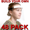 BUILD YOUR OWN Reusable Face Shield - 48 Pack (CBCBYORFS48)