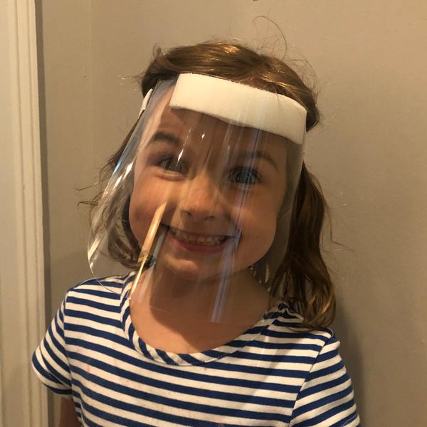 Reusable Baby / Toddler Face Shields (CBCDBFS)