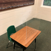 L-Shape Acrylic Schoolroom Sneeze Guard (CBCLSASSG)
