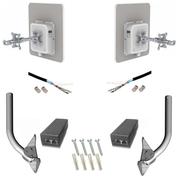 LigoWave DLB MACH5 160Mbps 5GHz 23dBm Link Kit