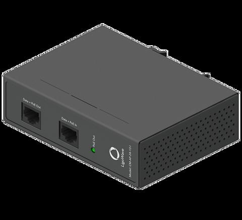 Ligowave 36-60VDC in + 802.3af/at to 24V Passive PoE Converter