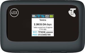 Telstra 4GX Wi-Fi Plus (ZTE MF910Y)