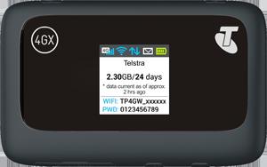 Telstra 4GX Wi-Fi Plus (ZTE MF910Y)
