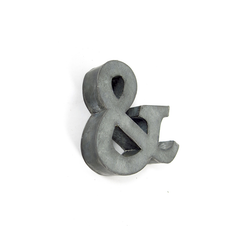 Small Zinc Ampersand