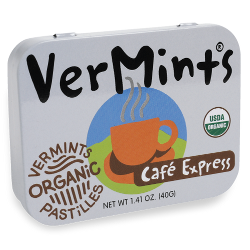 VerMints Pastilles Cafe Express Large Tin 1.41oz