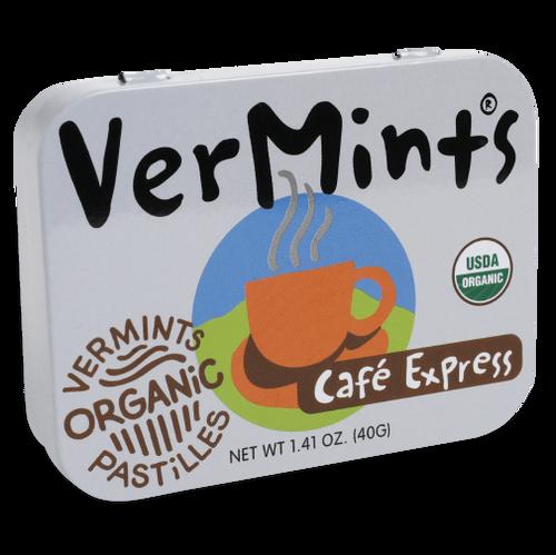VerMints Pastilles Cafe Express Large Tin 1.41oz