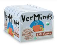 VerMints Pastilles Cafe Express Large Tin 6pack
