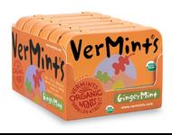 VerMints organic Gingermint  case of 6/1.41 oz tin