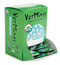 VerMints Organic Wintergreen Mints – 100 Trial Packages (2 mints in each pack) in dispensing box.