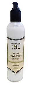 Miracle Oil Tea Tree Shave Cream
