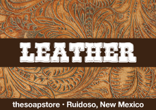 Leather – Glycerin Soap