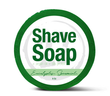 Eucalyptus Spearmint Shave Soap, 5 oz.