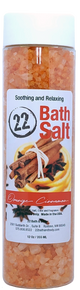 Orange Cinnamon Bath Salts, 10 oz. Tube