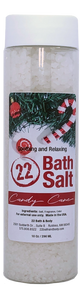 Candy Cane Bath Salts, 10 oz. Tube