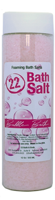 Bubble Bath Foaming Bath Salts, 12 oz. Tube