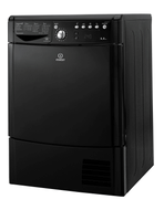 Indesit IDCE8450BKH Condenser Tumbe Dryer - Black - GRADED