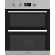 Hotpoint Class 2 DU2 540 IX Electric Built-under Double Oven - Stainless Steel - GRADED