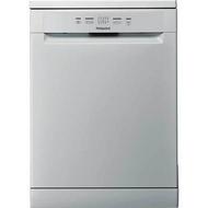 Hotpoint HAFC2B+26SV Standard Dishwasher - Silver - GRADED