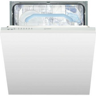 Indesit DIF16B1 Fully Integrated Standard Dishwasher - Silver Control Panel - A+ Rated - GRADED