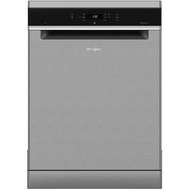 Whirlpool WFC3C24PXUK Standard Dishwasher - Stainless Steel - A++ Rated - GRADED