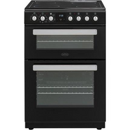 Belling FSE608MFc Electric Cooker with Ceramic Hob - Black - A/A Rated - GRADED.