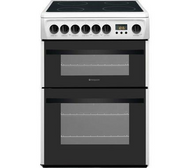 Hotpoint Newstyle DCN60P 60 cm Electric Ceramic Cooker - White - BRAND NEW