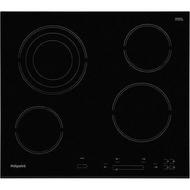 Hotpoint HR607BH 60cm 4 Zone Ceramic Hob - Black - GRADED