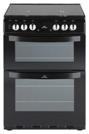 New World NW601DFDOL Freestanding Dual Fuel Cooker - Black - GRADED