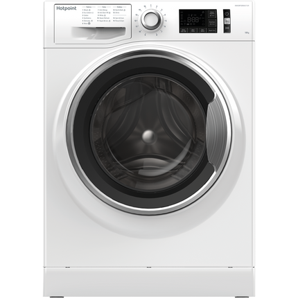 Hotpoint ActiveCare NM111065WCAUK 10Kg Washing Machine with 1600 rpm - White - A+++ Rated - GRADED