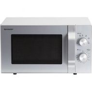 Sharp R204SLM 20L 800W Microwave - Stainless Steel - BRAND NEW