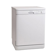 Montpellier DW1254P 60cm Freestanding Full Size Dishwasher - White - A++ Rated - BRAND NEW