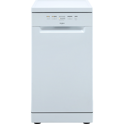 Whirlpool WSFE2B19UK Slimline Dishwasher A+ Rated - White - GRADED