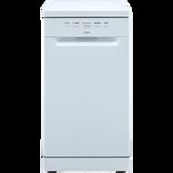 Whirlpool WSFE2B19UK Slimline Dishwasher A+ Rated - White - GRADED