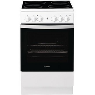 Indesit Cloe IS5V4KHW 50cm Electric Cooker with Ceramic Hob - White - A Rated - GRADED