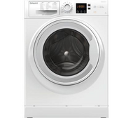 Hotpoint NSWR 843C WK UK 8 kg 1400 Spin Washing Machine - White - GRADED