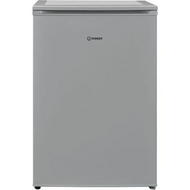 Indesit I55VM1110SUK Fridge with Ice Box - Silver - A+ Rated - GRADED