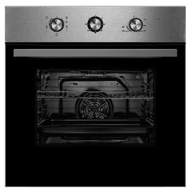 Montpellier SBFO65X Built In Single Electric Oven - Stainless Steel - A Rated - BRAND NEW