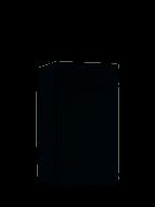 Hotpoint Aquarius HSFE 1B19 B 10 Place Slimline Freestanding Dishwasher - Black - GRADED
