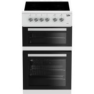 BEKO KDVC563AW 50 cm Electric Ceramic Cooker - White - BRAND NEW