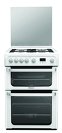 Hotpoint HUG61P Gas Cooker - White - GRADED