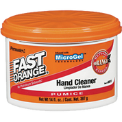 PERMATEX 35-013 14OZ FAST ORANGE CREAM HAND CLEANER PUMICE TUB