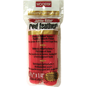 "WOOSTER RR311 4-1/2"" JUMBO KOTER RED FEATHER ROLLER COVER 2PK"