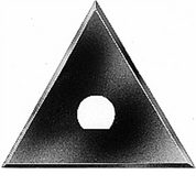 "HYDE 10420 2-3/4"" TRIANGLE REPLACEMENT MOLDING SCRAPER BLADE FOR 10400"