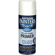 RUSTOLEUM 249058 12OZ WHITE PRIMER PAINTERS TOUCH 2X ULTRA COVER SPRAY