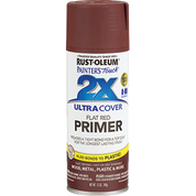 RUSTOLEUM 249086 12OZ FLAT RED PRIMER PAINTERS TOUCH 2X ULTRA COVER SPRAY