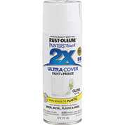 RUSTOLEUM 249090 12OZ GLOSS WHITE PAINTERS TOUCH 2X ULTRA COVER SPRAY